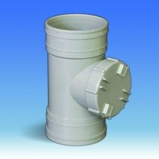 110mm Solvent Soil Access Pipe