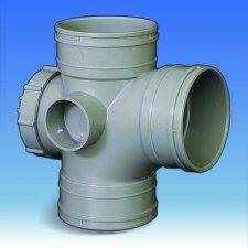 110mm Solvent Soil Access Branch
