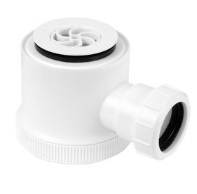 40mm White Shower Trap