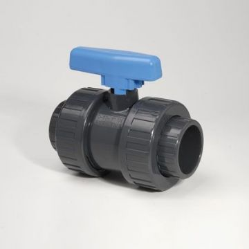 PVC-U Ball Valve DU Econ/BSP Socket EPDM - BSP Thread