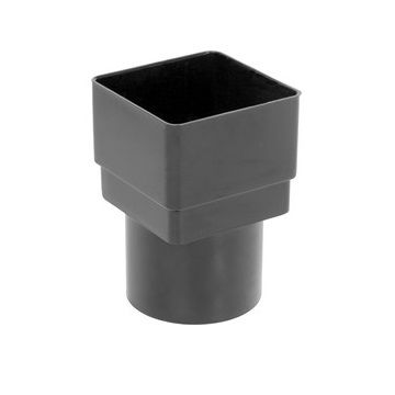 Square to Round Downpipe Adaptor